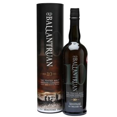 Whisky Ecosse Speyside Single Malt Old Ballantruan 10 Ans 50% 70cl Sous Etui