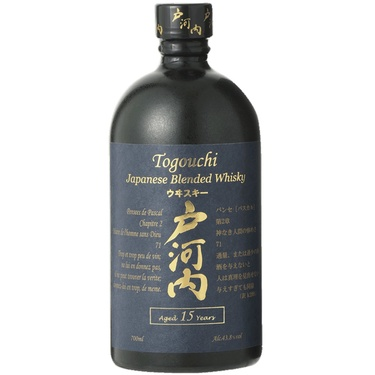 Whisky Japon Blend Togouchi 15 Ans 43.8% 70cl