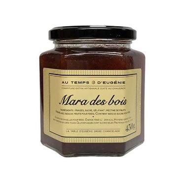 Confiture Extra Artisanale Fraises Mara Des Bois Au Temps D'eugenie 325g