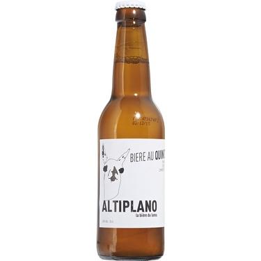 Biere Bio Au Quinoa Altiplano Sans Gluten 0.33 4,5% Bio