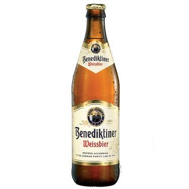 Biere Allemagne Benediktiner Weissbier Wheat Beer 0.50 5.4%
